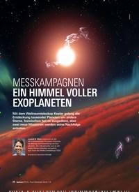Titelbild der Ausgabe 3/2019 von MESSKAMPAGNEN: EIN HIMMEL VOLLER EXOPLANETEN. Zeitschriften als Abo oder epaper bei United Kiosk online kaufen.