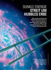 Titelbild der Ausgabe 3/2019 von TIEFEN DES ALLS: DUNKLE ENERGIE STREIT UM HUBBLES ERBE. Zeitschriften als Abo oder epaper bei United Kiosk online kaufen.