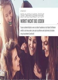 Titelbild der Ausgabe 5/2019 von ATTRAKTIVITÄT: DER CHEERLEADER-EFFEKT WIRKT NICHT BEI JEDEM. Zeitschriften als Abo oder epaper bei United Kiosk online kaufen.