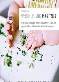 Titelbild der Ausgabe 5/2019 von KINDESENTWICKLUNG: ZWISCHEN GRÜNZEUG UND GIFTZEUG. Zeitschriften als Abo oder epaper bei United Kiosk online kaufen.