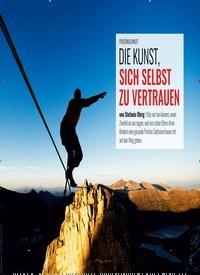 Titelbild der Ausgabe 5/2019 von PERSÖNLICHKEIT: DIE KUNST, SICH SELBST ZU VERTRAUEN. Zeitschriften als Abo oder epaper bei United Kiosk online kaufen.