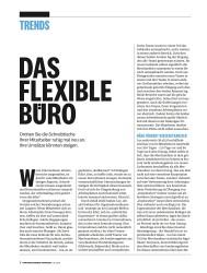 Titelbild der Ausgabe 7/2018 von DAS FLEXIBLE BURO. Zeitschriften als Abo oder epaper bei United Kiosk online kaufen.