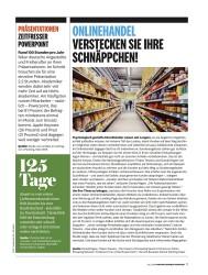 Titelbild der Ausgabe 7/2018 von ONLINEHANDEL VERSTECKEN SIE IHRE SCHNÄPPCHEN!. Zeitschriften als Abo oder epaper bei United Kiosk online kaufen.