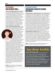 Titelbild der Ausgabe 7/2018 von PERSONALPLANUNG VERLÄSSLICHE SCHICHTEN STEIGERN DEN UMSATZ. Zeitschriften als Abo oder epaper bei United Kiosk online kaufen.