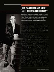 """Titelbild der Ausgabe 8/2018 von """"EIN MANAGER KANN NICHT ALLE ANTWORTEN KENNEN"""". Zeitschriften als Abo oder epaper bei United Kiosk online kaufen."""