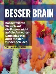 Titelbild der Ausgabe 8/2018 von TITEL: BESSER BRAIN STORMEN. Zeitschriften als Abo oder epaper bei United Kiosk online kaufen.