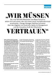 """Titelbild der Ausgabe 8/2018 von INTERVIEW: """"WIR MÜSSEN VERTRAUEN"""". Zeitschriften als Abo oder epaper bei United Kiosk online kaufen."""