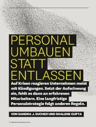 Titelbild der Ausgabe 8/2018 von PERSONAL UMBAUEN STATT ENTLASSEN. Zeitschriften als Abo oder epaper bei United Kiosk online kaufen.