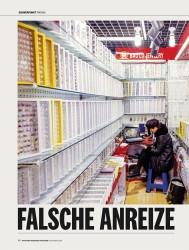 Titelbild der Ausgabe 11/2018 von FALSCHE ANREIZE. Zeitschriften als Abo oder epaper bei United Kiosk online kaufen.