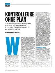 Titelbild der Ausgabe 12/2018 von KONTROLLEURE OHNE PLAN. Zeitschriften als Abo oder epaper bei United Kiosk online kaufen.