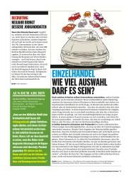 Titelbild der Ausgabe 12/2018 von EINZELHANDEL WIE VIEL AUSWAHL DARF ES SEIN?. Zeitschriften als Abo oder epaper bei United Kiosk online kaufen.