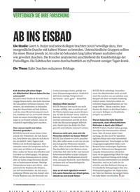 Titelbild der Ausgabe 1/2019 von VERTEIDIGEN SIE IHRE FORSCHUNG: AB INS EISBAD. Zeitschriften als Abo oder epaper bei United Kiosk online kaufen.