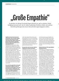 """Titelbild der Ausgabe 1/2019 von """"Große Empathie"""". Zeitschriften als Abo oder epaper bei United Kiosk online kaufen."""