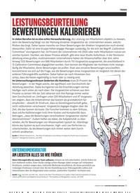 Titelbild der Ausgabe 2/2019 von LEISTUNGSBEURTEILUNG BEWERTUNGEN KALIBRIEREN. Zeitschriften als Abo oder epaper bei United Kiosk online kaufen.