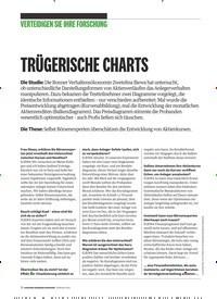 Titelbild der Ausgabe 2/2019 von VERTEIDIGEN SIE IHRE FORSCHUNG: TRÜGERISCHE CHARTS. Zeitschriften als Abo oder epaper bei United Kiosk online kaufen.