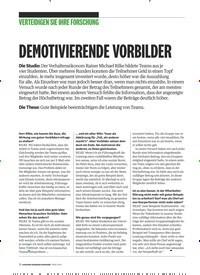 Titelbild der Ausgabe 3/2019 von VERTEIDIGEN SIE IHRE FORSCHUNG: DEMOTIVIERENDE VORBILDER. Zeitschriften als Abo oder epaper bei United Kiosk online kaufen.