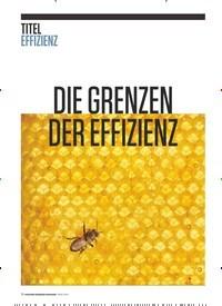 Titelbild der Ausgabe 3/2019 von DIE GRENZEN DER EFFIZIENZ. Zeitschriften als Abo oder epaper bei United Kiosk online kaufen.