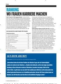 Titelbild der Ausgabe 4/2019 von RANKING WO FRAUEN KARRIERE MACHEN. Zeitschriften als Abo oder epaper bei United Kiosk online kaufen.