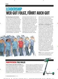 Titelbild der Ausgabe 4/2019 von LEADERSHIP WER GUT FOLGT, FÜHRT AUCH GUT. Zeitschriften als Abo oder epaper bei United Kiosk online kaufen.