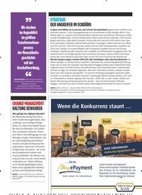 Titelbild der Ausgabe 5/2019 von STRATEGIE DER ANGREIFER IM ECKBÜRO. Zeitschriften als Abo oder epaper bei United Kiosk online kaufen.