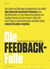 Titelbild der Ausgabe 5/2019 von TITEL FÜHRUNG: Die FEEDBACK-Falle. Zeitschriften als Abo oder epaper bei United Kiosk online kaufen.
