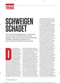 Titelbild der Ausgabe 6/2019 von SCHWEIGEN SCHADET. Zeitschriften als Abo oder epaper bei United Kiosk online kaufen.