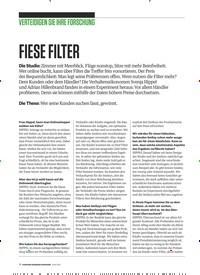 Titelbild der Ausgabe 6/2019 von VERTEIDIGEN SIE IHRE FORSCHUNG: FIESE FILTER. Zeitschriften als Abo oder epaper bei United Kiosk online kaufen.