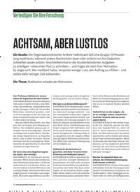 Titelbild der Ausgabe 7/2019 von Verteidigen Sie Ihre Forschung: ACHTSAM, ABER LUSTLOS. Zeitschriften als Abo oder epaper bei United Kiosk online kaufen.