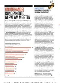 Titelbild der Ausgabe 10/2019 von KUNDENSERVICE BRINGT EIN WUTAUSBRUCH MEHR ENTSCHÄDIGUNG?. Zeitschriften als Abo oder epaper bei United Kiosk online kaufen.