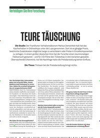 Titelbild der Ausgabe 10/2019 von Verteidigen Sie Ihre Forschung: TEURE TÄUSCHUNG. Zeitschriften als Abo oder epaper bei United Kiosk online kaufen.