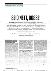 Titelbild der Ausgabe 12/2019 von Verteidigen Sie Ihre Forschung: SEID NETT, BOSSE!. Zeitschriften als Abo oder epaper bei United Kiosk online kaufen.