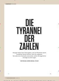 Titelbild der Ausgabe 12/2019 von DIE TYRANNEI DER ZAHLEN. Zeitschriften als Abo oder epaper bei United Kiosk online kaufen.