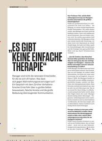 """Titelbild der Ausgabe 12/2019 von """"ES GIBT KEINE EINFACHE THERAPIE"""". Zeitschriften als Abo oder epaper bei United Kiosk online kaufen."""
