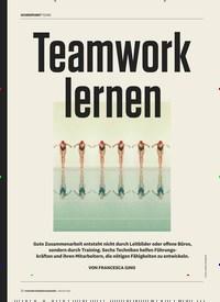 Titelbild der Ausgabe 1/2020 von Teamwork lernen. Zeitschriften als Abo oder epaper bei United Kiosk online kaufen.