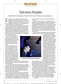 Titelbild der Ausgabe 34/2019 von Tod eines Projekts. Zeitschriften als Abo oder epaper bei United Kiosk online kaufen.
