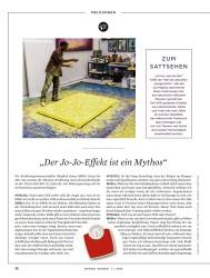 """Titelbild der Ausgabe 1/2018 von MELDUNGEN: """"Der Jo-Jo-Effekt ist ein Mythos"""". Zeitschriften als Abo oder epaper bei United Kiosk online kaufen."""