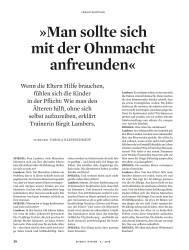 Titelbild der Ausgabe 5/2018 von VERANTWORTUNG: »Man sollte sich mit der Ohnmacht anfreunden«. Zeitschriften als Abo oder epaper bei United Kiosk online kaufen.