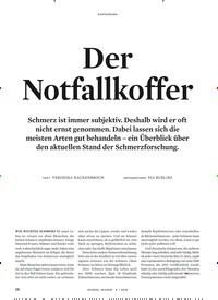 Titelbild der Ausgabe 6/2018 von Der Notfallkoffer. Zeitschriften als Abo oder epaper bei United Kiosk online kaufen.