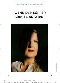 Titelbild der Ausgabe 6/2018 von PATIENTEN BERICHTEN: WENN DER KÖRPER ZUM FEIND WIRD. Zeitschriften als Abo oder epaper bei United Kiosk online kaufen.
