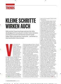 Titelbild der Ausgabe 1/2019 von KLEINE SCHRITTE WIRKEN AUCH. Zeitschriften als Abo oder epaper bei United Kiosk online kaufen.