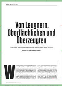 Titelbild der Ausgabe 9/2019 von Von Leugnern, Oberflächlichen und Überzeugten. Zeitschriften als Abo oder epaper bei United Kiosk online kaufen.
