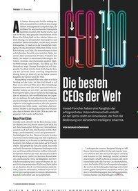 Titelbild der Ausgabe 11/2019 von CEO-RANKING: Die besten CEOs der Welt. Zeitschriften als Abo oder epaper bei United Kiosk online kaufen.