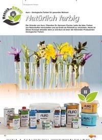 Titelbild der Ausgabe 5/2019 von Ökologische Farben: Natürlich farbig. Zeitschriften als Abo oder epaper bei United Kiosk online kaufen.