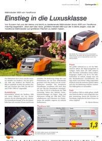 Titelbild der Ausgabe 5/2019 von YardForce Mähroboter: Einstieg in die Luxusklasse. Zeitschriften als Abo oder epaper bei United Kiosk online kaufen.