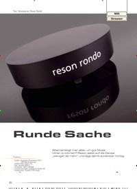 Titelbild der Ausgabe 3/2019 von Runde Sache. Zeitschriften als Abo oder epaper bei United Kiosk online kaufen.