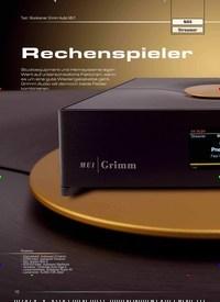 Titelbild der Ausgabe 6/2019 von Test: Musikserver Grimm Audio MU1: Rechenspieler. Zeitschriften als Abo oder epaper bei United Kiosk online kaufen.