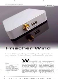 Titelbild der Ausgabe 6/2019 von Test: Streaming-Bridge Waversa WStreamer: Frischer Wind. Zeitschriften als Abo oder epaper bei United Kiosk online kaufen.
