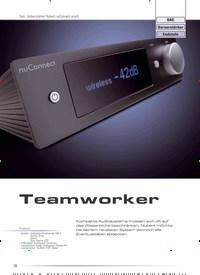 Titelbild der Ausgabe 6/2019 von Test: Vollverstärker Nubert nuConnect ampX: Teamworker. Zeitschriften als Abo oder epaper bei United Kiosk online kaufen.