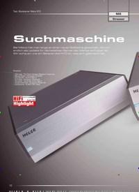 Titelbild der Ausgabe 1/2020 von Test: Musikserver Melco N10: Suchmaschine. Zeitschriften als Abo oder epaper bei United Kiosk online kaufen.