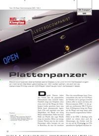 Titelbild der Ausgabe 1/2020 von Test: CD-Player Electrocompaniet EMC-1 Mk V: Plattenpanzer. Zeitschriften als Abo oder epaper bei United Kiosk online kaufen.